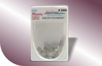 Матрицы металлические контурные перфорированные для премоляров 3501-3503