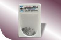 Матрицы металлические контурные перфорированные для моляров 3511-3512